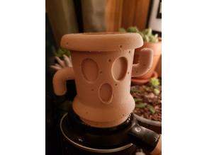 Animal Crossing lloid (gyroid) planter