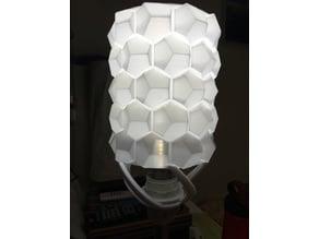 Honeycomb lampshade (remix of honeycomb vase)