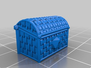 Woven Chest for D&D