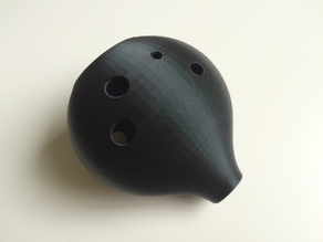 Single Print Ocarina