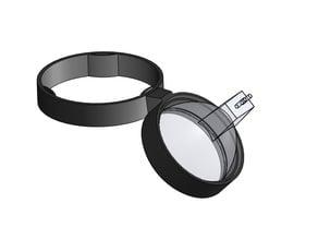 Microscope led lamp holder