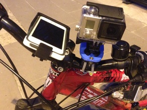 GoPro and iPhone 5 Thule Case Universal Bike Mount