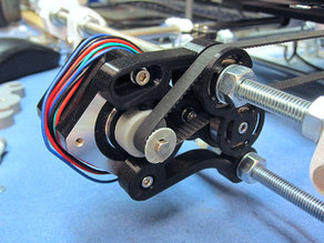 Mendel Mono/Tricolor Y-motor mount with 608 bearing idler