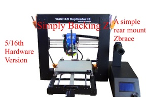 Simply Backing Z (A simple rear mount Z brace) 5/16th Version