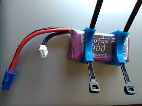 Battery Clip for bike stem or other tubes