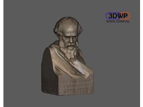 Socrates Bust (3D Scan)