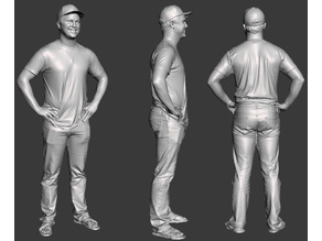 character 5 3dscan