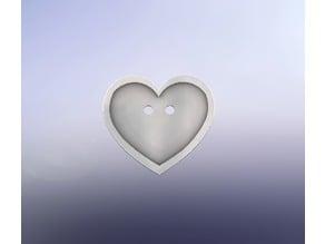 Heart Shirt Button