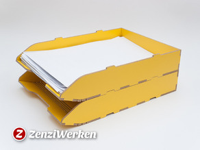 Stackable Filing Tray cnc/laser