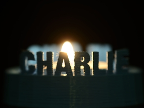 Je suis Charlie (candle holder)