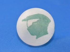 Eggbot Halo Ping Pong Ball