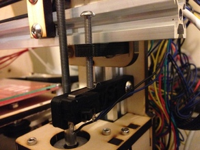 Simple z end stop for Prusa i3v from MakerFarm