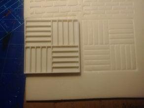 Standard Block Pattern Stamp
