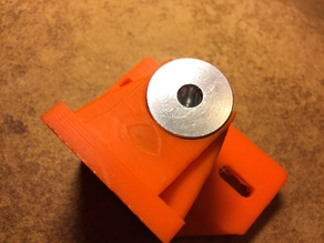 Integrated E3D clone hotend (22mm dia) 40mm fan holder and Wade's Extruder Mount Plate