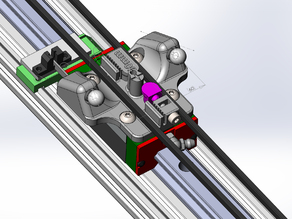 Delta Magnetic carriage for Hiwin rails (source available)