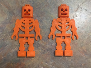 minifigure halloween skeleton