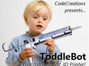 ToddleBot: Your child's first 3D Printer