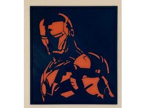 Iron Man 2D Portrait