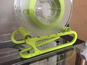 Twisty Rolling Filament Spool Holder