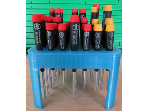 Tool stand for Wiha drivers (complete set)