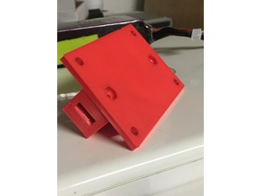 "10"" FPV Monitor mount for tripod 22 mm"