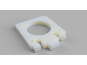 CTC Prusa i3 Y Shaft motor fixing plate