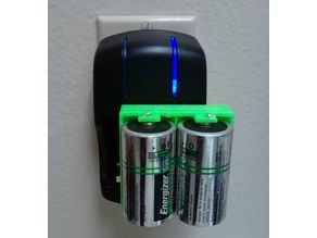 Charge adapter D batteries