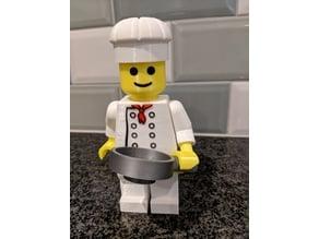 Giant Lego Chef