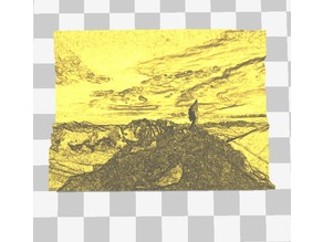 mountain climber lithiopane
