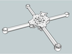 Tubular Crossfire 2 quadcopter