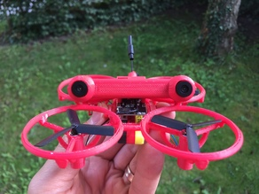 WB90-XX20-DSF3FC - Two 90mm Micro Quadcopter frames for NanoCam3D Mk.1