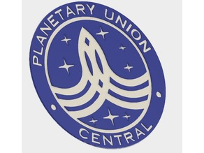 'The Orville' Planetary Union Central Badge