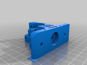 "maker farm prusa i3 8-10"" modified extruder for ninjaflex 3mm"