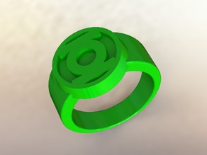 Green Lantern Ring - classic