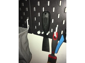 Ikea Skadis Hook for scraper