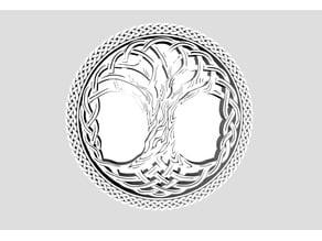 Myrkur Mareridt Tree Logo