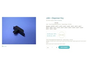 Jofel Dispenser Key - RE1004