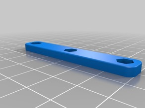 Backplate for Railcore 2 Printed Door Hinges