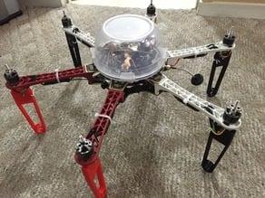 DJI F550 / 450 Folding Landing gear legs