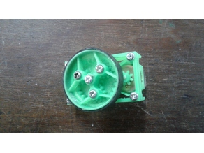 Planetary gearbox for 130 dc motor