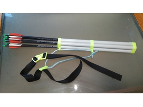 25mm PVC pipe quiver