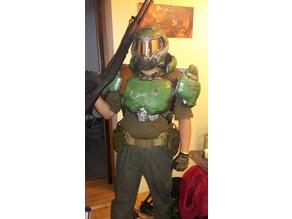 DOOM Armor Praetor Suit Pauldrons
