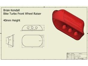 Turbo Front Wheel Raiser (40mm)