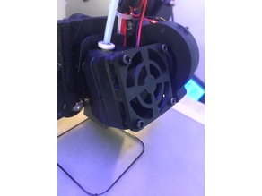 """Silent"" 40x40 Fan Cover for Creality CR-10, Ender, Prusa"