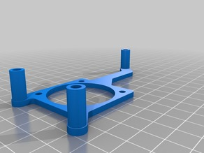 M200 fan bracket with standoffs included (10mm or 15mm)