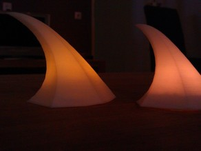 'Force of Nature' lamp