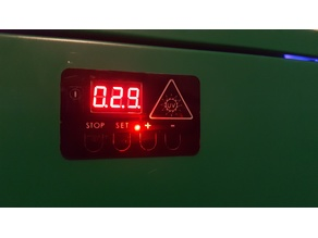 Timer board cover for UV curing chamber