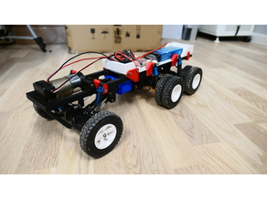 3D Printed Rc Truck V4