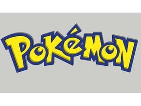 Pokémon Logo 3D
