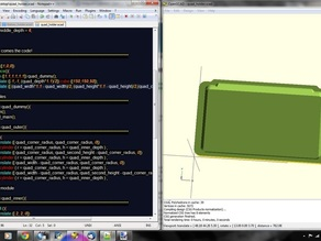 OpenSCAD/Notepad++ Language File (including useage guide)